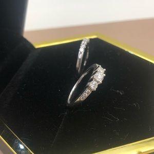 REAL DIAMOND REAL GOLD engagement set